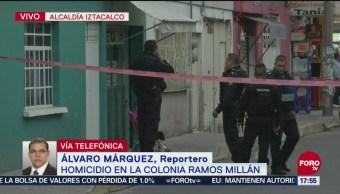 Homicidio en la colonia Ramos Millán