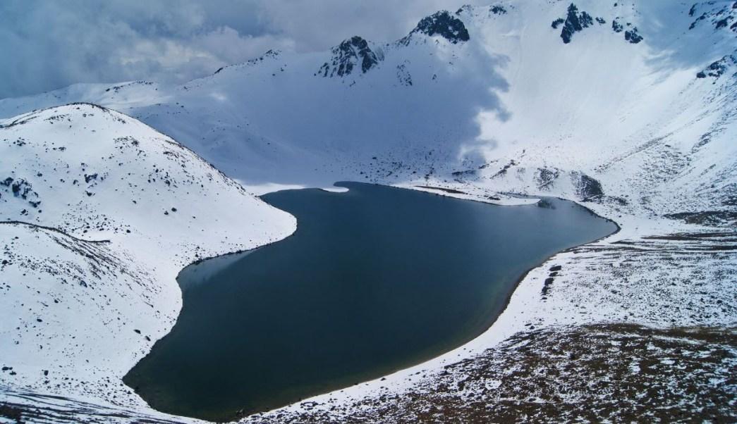 Comparten Impresionantes Imagenes Del Nevado De Toluca