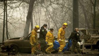 Hay 56 muertos y 130 desaparecidos por incendios California