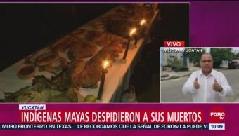 Indígenas Mayas Recuerdan A Sus Muertos Yucatán Hanal Pixán Comida De Las Ánimas