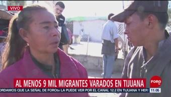 Integrantes de caravana migrante deciden regresar a sus países