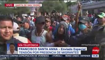Interceptan a miembros de la caravana migrante en cercanía a garita de San Ysidro