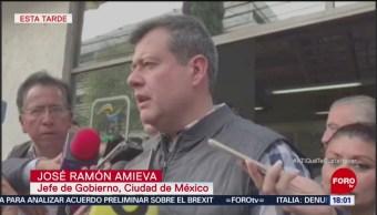 Investigan Ataque A Líder Del Sindicato De Bomberos De La CDMX Autoridades De La Ciudad De México Ataque A Ismael Figueroa, Líder Del Sindicato De Bomberos, Calles De La Condesa