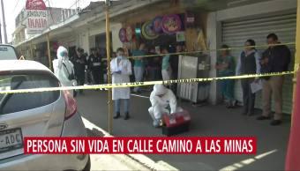 Investigan muerte de un hombre en la alcaldía Iztapalapa, CDMX