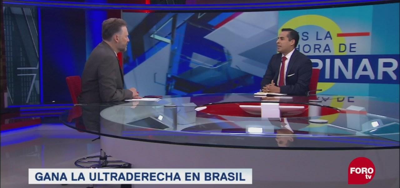Jair Bolsonaro Presidente Brasil Espera Ultraderechista