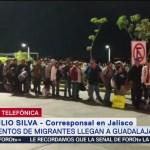 Jalisco pedirá a miembros de segunda caravana migrante no dormir en la entidad