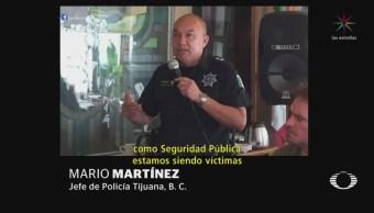 Jefe Policía Tijuana Migrantes Jóvenes Malandros