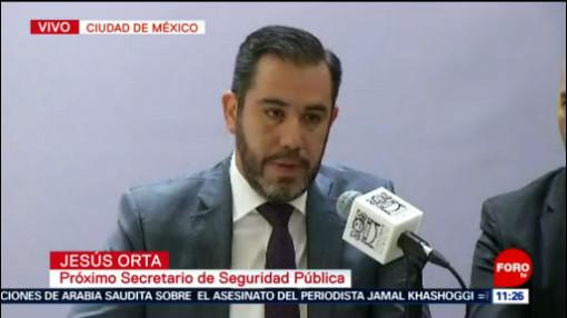 Jesús Orta presenta el Plan de Seguridad Nacional de la Ciudad de México