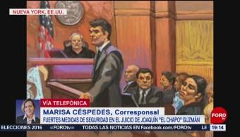 Jornada Intensa Durante Primer Día Juicio El Chapo