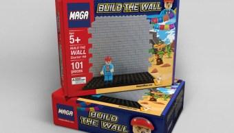 Niños de EU podrán armar el muro de Trump en Navidad