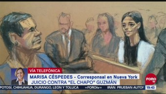 Juicio 'El Chapo' Inicia Audición Candidatos Jurado