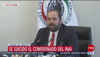 Comisionado Del INAI Se Suicidó PGJ-CDMX Crimen