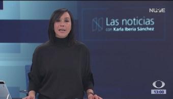 Las Noticias, con Karla Iberia: Programa del 16 de noviembre de 2018