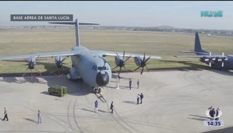La base aérea de Santa Lucia, un complejo logístico militar