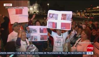 Damnificados Por Sismo Del 19-S Protestan En La CDMX Sismo Del 19 De Septiembre, Oficinas Del Gobierno De La Ciudad De México
