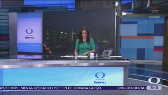 Las noticias, con Danielle Dithurbide: Programa del 1 de noviembre del 2018