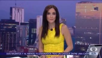 Las noticias, con Danielle Dithurbide: Programa del 12 de noviembre del 2018
