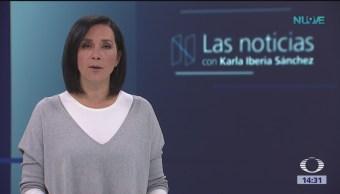 Las Noticias, con Karla Iberia: Programa del 2 de noviembre de 2018