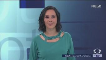 Las Noticias, con Karla Iberia: Programa del 5 de noviembre de 2018
