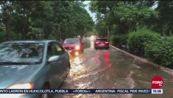 Xavier Provocara Lluvias Jalico, Michoacán Colima La tormenta tropical Xavier Manzanillo
