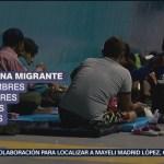 Llega caravana migrante a Guadalajara, Jalisco