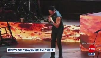 #LoEspectaculardeME: Éxito de Chayanne en chile