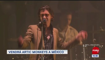 #LoEspectaculardeME: Vendrá Artic Monkeys a México