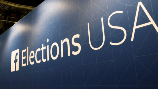 Facebook bloquea 115 cuentas antes de elecciones en EU