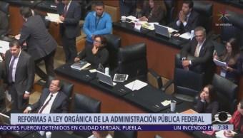 Senado aprueba minuta de reforma a Ley de Administración Pública