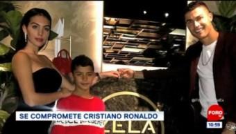 #LoViralDeLaSemana: Se compromete Cristiano Ronaldo