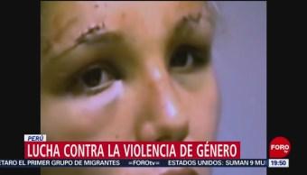 Lucha Contra La Violencia De Género Perú Conductora De Televisión, Lady Guillen