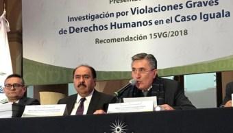 CNDH emite recomendación por caso Ayotzinapa