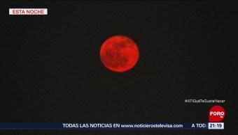 Luna Llena Cubre La Ciudad De México