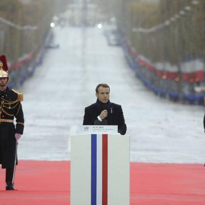 Mayor presupuesto militar de Europa es para 'construir su autonomía': Macron