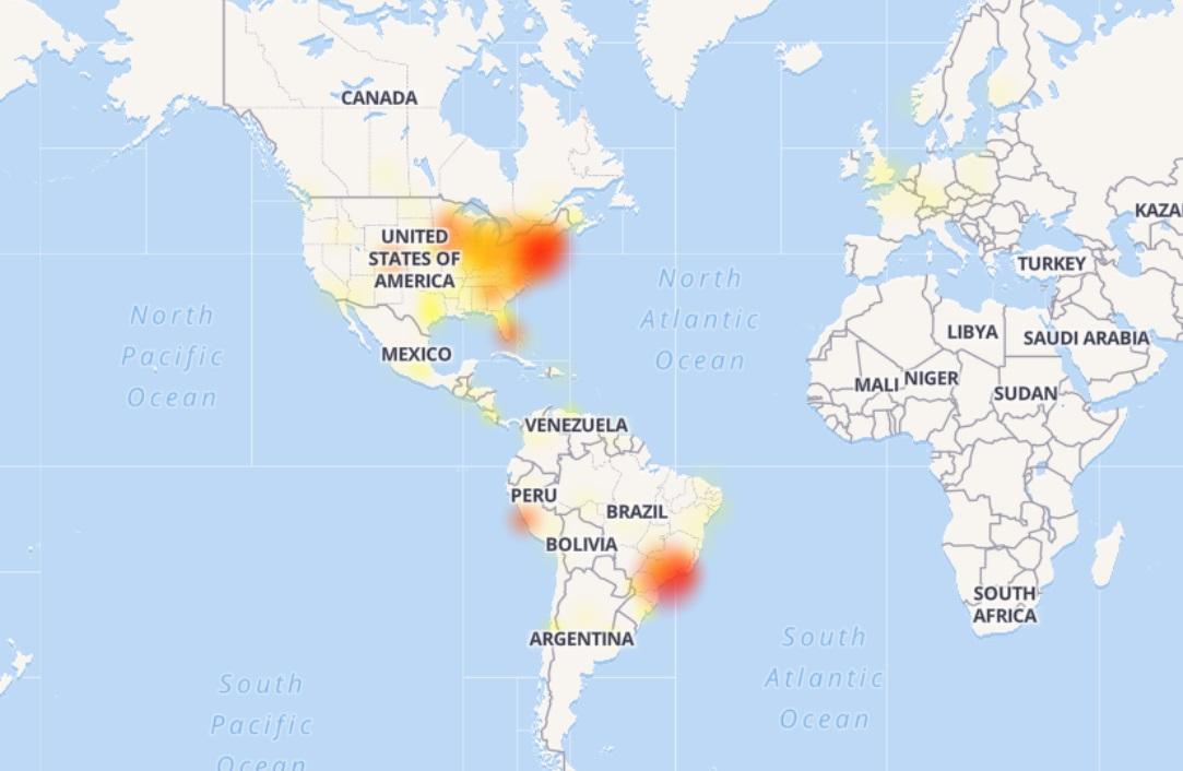 Usuarios de Facebook reportan problemas para acceder
