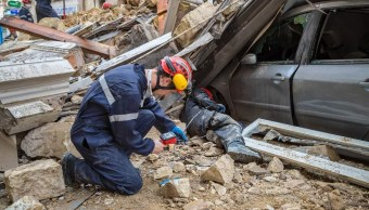 Suman cuatro muertos por derrumbe de edificios en Francia