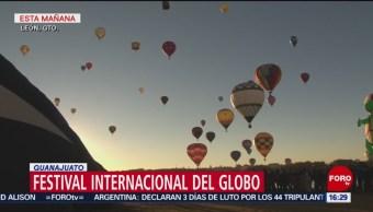 Más de 350 mil personas asisten al tercer Festival Internacional del Globo