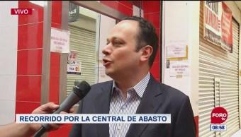 Más de 90 mil personas trabajan en la Central de Abasto