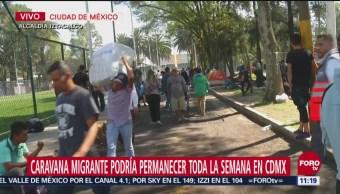 Más de mil 100 migrantes pretenden quedarse en la CDMX