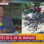 Más de mil migrantes se encuentran en albergue en Irapuato, Guanajuato
