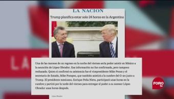 Trump Toma De Protesta Amlo Paparrucha Del Día