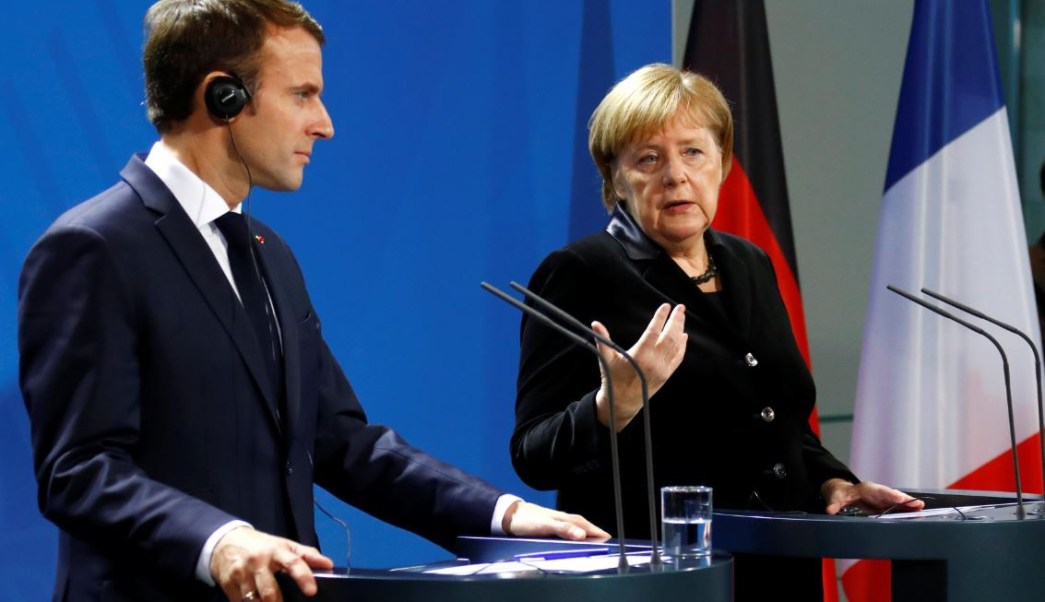 Merkel y Macron subrayan intensa agenda europea previo a elecciones