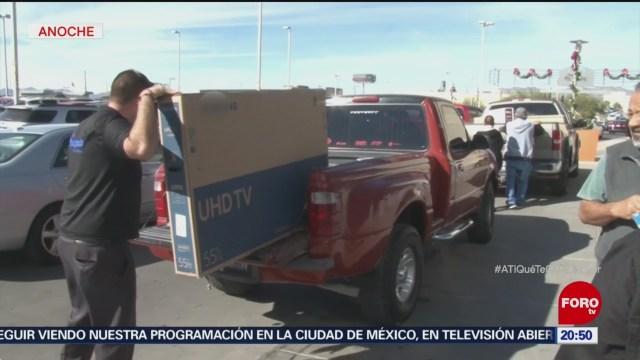 Mexicanos Cruzan Frontera Aprovechar Black Friday