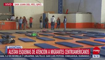 Migrantes abandonan albergue de San Juan del Río