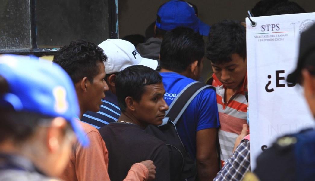 Integrantes de quinta caravana migrante son repatriados