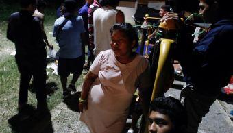 Segunda caravana migrante avanza por Veracruz hacia EU