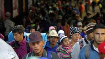 Segunda caravana migrante se va el viernes de la CDMX