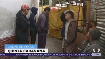 Migrantes centroamericanos en CDMX aún no deciden si viajarán a EU