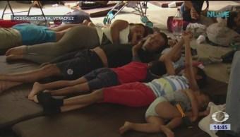 Migrantes centroamericanos padecen enfermedades