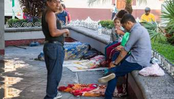 Migrantes de tercera caravana no pueden salir de Chiapas